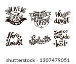 vector chalkboard phrase... | Shutterstock .eps vector #1307479051