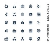 macro icon set. collection of... | Shutterstock .eps vector #1307564131