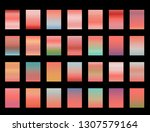 28 gradients with the color of... | Shutterstock .eps vector #1307579164