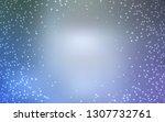 light blue vector background... | Shutterstock .eps vector #1307732761