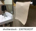 paper towel hand dispenser... | Shutterstock . vector #1307818237