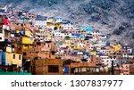 Different Colorful Slum...