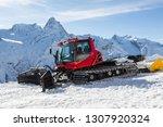 Snowcat On The Mountain Frosty...