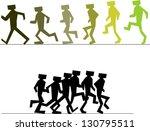 walking man sequence