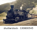 Vintage Steam Engine  Train