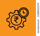time management premium icon...   Shutterstock .eps vector #1308020194