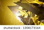 gold beautiful illustration... | Shutterstock . vector #1308173164