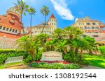 san diego  california  united... | Shutterstock . vector #1308192544