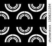 polka dot seamless pattern.... | Shutterstock .eps vector #1308211354