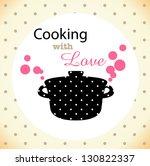recipe card | Shutterstock .eps vector #130822337