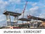 genova  genoa  italy   february ...   Shutterstock . vector #1308241387