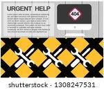 computer repair   digital... | Shutterstock .eps vector #1308247531