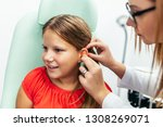 young girl at medical...   Shutterstock . vector #1308269071