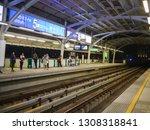 bts mo chit sky train station... | Shutterstock . vector #1308318841