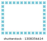 frame border line page vector... | Shutterstock .eps vector #1308356614