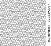 strokes pattern.dashed backdrop.... | Shutterstock .eps vector #1308393097