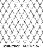 seamless geometric diamonds... | Shutterstock .eps vector #1308425257