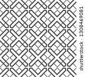 seamless geometric pattern.... | Shutterstock .eps vector #1308469081