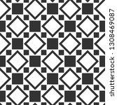 seamless geometric pattern.... | Shutterstock .eps vector #1308469087