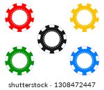 red  blue  yellow  black and... | Shutterstock .eps vector #1308472447