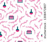 vector seamless pattern with... | Shutterstock .eps vector #1308472807