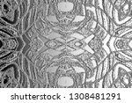 black and white relief convex... | Shutterstock . vector #1308481291