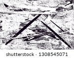 distressed background in black... | Shutterstock .eps vector #1308545071