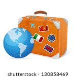 vector illustration of... | Shutterstock .eps vector #130858469