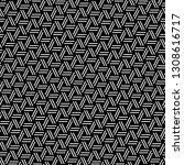 strokes pattern.dashes motif.... | Shutterstock .eps vector #1308616717