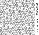 strokes pattern. linear... | Shutterstock .eps vector #1308642187