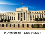 federal reserve building ...   Shutterstock . vector #1308693394