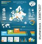 detail infographic vector... | Shutterstock .eps vector #130874207