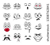 happy symbol emotions icons...   Shutterstock .eps vector #1308762841