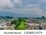 view of houses of old town of...   Shutterstock . vector #1308811474