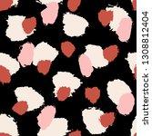 hand painted brush strokes in... | Shutterstock .eps vector #1308812404