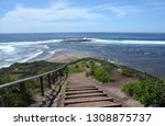 long reef headland  sydney nsw... | Shutterstock . vector #1308875737