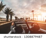 happy people having fun in... | Shutterstock . vector #1308879487