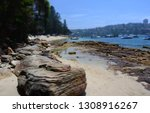 forty baskets beach is a small... | Shutterstock . vector #1308916267