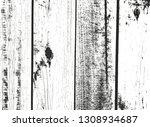 distressed overlay wooden plank ...   Shutterstock .eps vector #1308934687