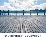 Empty Pier At Coney Island...