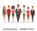 business people character... | Shutterstock .eps vector #1308971521