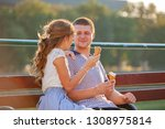 love and affection between a... | Shutterstock . vector #1308975814
