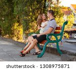 love and affection between a... | Shutterstock . vector #1308975871