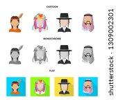 vector illustration of imitator ... | Shutterstock .eps vector #1309002301