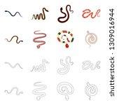 vector design of mammal and...   Shutterstock .eps vector #1309016944