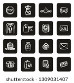 customs or duty icons freehand... | Shutterstock .eps vector #1309031407