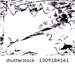 distressed background in black... | Shutterstock . vector #1309184161
