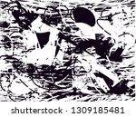 distressed background in black... | Shutterstock . vector #1309185481