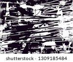 distressed background in black... | Shutterstock . vector #1309185484