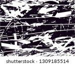 distressed background in black... | Shutterstock . vector #1309185514